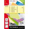 Technika papírkészlet - 1. osztályos - 38 db-os