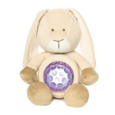 Teddykompaniet Diinglisar Nyuszi világitó pocakkal 23 cm Teddykompaniet készségfejlesztő
