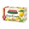 """TEEKANNE Gyümölcstea, 20x1,75 g,  """"World of Fruits"""", gyömbér-citrom"""
