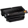 Tefal OptiGrill GC722834 elektromos grillsütő, 2000W, felület 800 cm², 9 program, automatikus érzékelő, eltávolítható lapok, Fekete (GC722834)