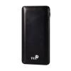 Tel1 Slim Dual USB Power Bank 12000mAh, fekete