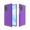Telealk Samsung Galaxy Note 20 Ultra, csúszásmentes műanyag tok, lila