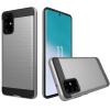 Telealk Samsung Galaxy S20 karcálló, mintás, kemény műanyag armor tok, szürke