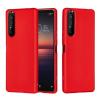 Telealk Sony Xperia 1 II / Xperia 5 Plus, ütésálló szilikon tok, piros