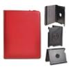 Telone Book Rotated oldalra nyíló bőrbevonatos támasztós tok Samsung T110 Galaxy Tab 3 Lite 7.0-hoz piros*
