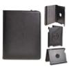 Telone Book Rotated oldalra nyíló bőrbevonatos támasztós tok Samsung T330 Galaxy Tab 4 8.0-hoz fekete*
