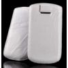 Telone Special Creased álló kihúzhatós bőrtok Samsung S5360 Galaxy Y méretű fehér*