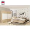 Tempo GABRIELA Hálószoba szett (szekrény+ágy 180x200+2 db éjjeliszekrény) sonoma tölgy/fehér
