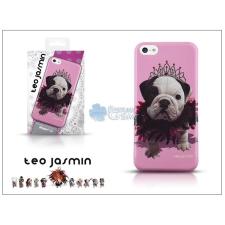 Teo Jasmin Apple iPhone 5C hátlap - Teo Jasmin Queen - pink tok és táska