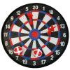 Tépőzáras darts tábla labdákkal és nyilakkal