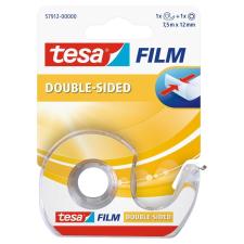 Tesa Ragasztószalag kétoldalas + adagoló 12mmx7,5m TESA 57912 ragasztószalag és takarófólia