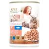 Tesco Pet Specialist teljes értékű állateledel felnőtt macskák számára lazaccal és tőkehallal 415 g