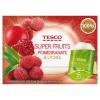 Tesco Super Fruits gránátalma és licsi ízű fehér és zöld teák keveréke 15 filter 22,5 g
