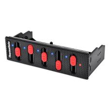 Thermaltake Commander F5 Multi Fan Controller Frontpanel Black roller