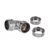 Thermaltake Pacific G1/4 PETG Tube 90-fok Dual Compression fitting  (CL-W099-CA00SL-A)
