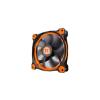 Thermaltake Riing 12, 120mm LED Narancs/Fehér (CL-F038-PL12OR-A)