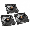 Thermaltake Riing 12 LED Red 3-Fan Pack (CL-F055-PL12WT-A)