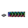 Thermaltake Riing Plus 14 LED RGB Radiator Fan TT Premium (CL-F057-PL14SW-A)