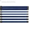 Thermaltake TtMod Sleeve moduláris tápkábel kit 0.3m fekete-kék