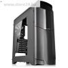 Thermaltake Versa N26 táp nélküli ATX számítógép ház fekete