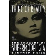 Thing of Beauty – Stephen Fried idegen nyelvű könyv