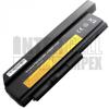ThinkPad X220i Series 6600 mAh 9 cella fekete notebook/laptop akku/akkumulátor utángyártott