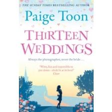 Thirteen Weddings – Paige Toon idegen nyelvű könyv