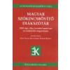 Tinta Magyar szókincsbővítő diákszótár - Eőry Vilma - Kiss Gábor - Kőhler Klára