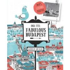 Tittel Kinga Fabulous Budapest idegen nyelvű könyv