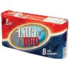 """Toalettpapír, 2 rétegű, 8 tekercses, """"Lilla Duo"""""""