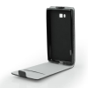 Tok, flip tok, Huawei P9 Lite, fekete, flexi, csomagolás nélküli
