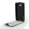 Tok, flip tok, Lenovo Vibe C A2020, fekete, flexi, csomagolás nélküli