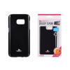 Tok, Mercury Jelly, szilikon, (csillámporos), Apple Iphone X, fekete