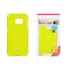 Tok, Mercury Jelly, szilikon, (csillámporos), Apple Iphone X, lime zöld