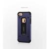Tok, Motomo II aluminium hátlap, szilikon kerettel, Apple Iphone X, kék, prémium minőség