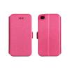 Tok, oldalra nyíló flip tok, Alcatel C7 One Touch Pop (7041D) , rózsaszín, flexi, csomagolás nélküli