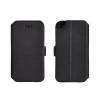 Tok, oldalra nyíló flip tok, Nokia 8, fekete, flexi, csomagolás nélküli