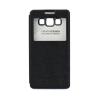 Tok, Samsung Galaxy A5, Kalaideng Iceland III széria, oldalra nyíló, ablakos, fekete, bliszteres