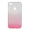 Tok, Shining, Huawei P10 Lite, szilikon hátlapvédő, 3 részes, rózsaszín átmenetes