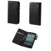 tok-shop.hu Huawei P8 Lite, Oldalra nyíló tok, Smart Case Plus, fekete
