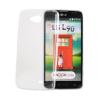 Tok, Ultra Slim-szilikon tok, LG X screen, átlátszó, csomagolás nélkül