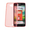Tok, Ultra Slim-szilikon tok, Samsung Galaxy Trend 2 Duos G313H / Galaxy Trend 2 Lite G318, koral piros áttetsző, csomagolás nélkül