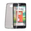 Tok, Ultra Slim-szilikon tok, Sony Xperia Z5 Premium, füstszínű áttetsző, csomagolás nélkül