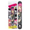 Tokidoki Girl Power - nagy rúd vibrátor (fekete)