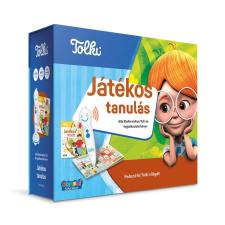Tolki Tolki Interaktív foglalkoztató könyv tollal készletben - Játékos tanulás idegen nyelvű könyv