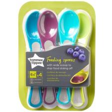 Tommee Tippee Explora etető kanál rövid nyelű (4db) tányér és evőeszköz