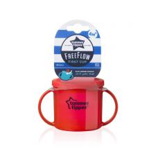 Tommee Tippee FreeFlow First Cup pohár 190ml 4+ kulacs, kulacstartó