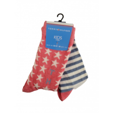 TommyHilfiger TH UNISEX STARS AND STRIPES SOCK 2P Magasszárú zokni