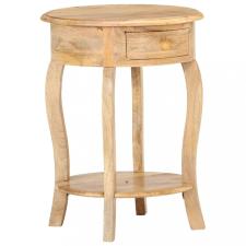 Tömör mangófa kisasztal 37 x 37 x 61 cm bútor