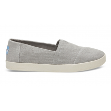 TOMS Drizzle Grey Heavy Canvas